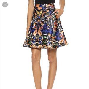 Alice + Olivia Nyla Butterfly Skirt Size 4